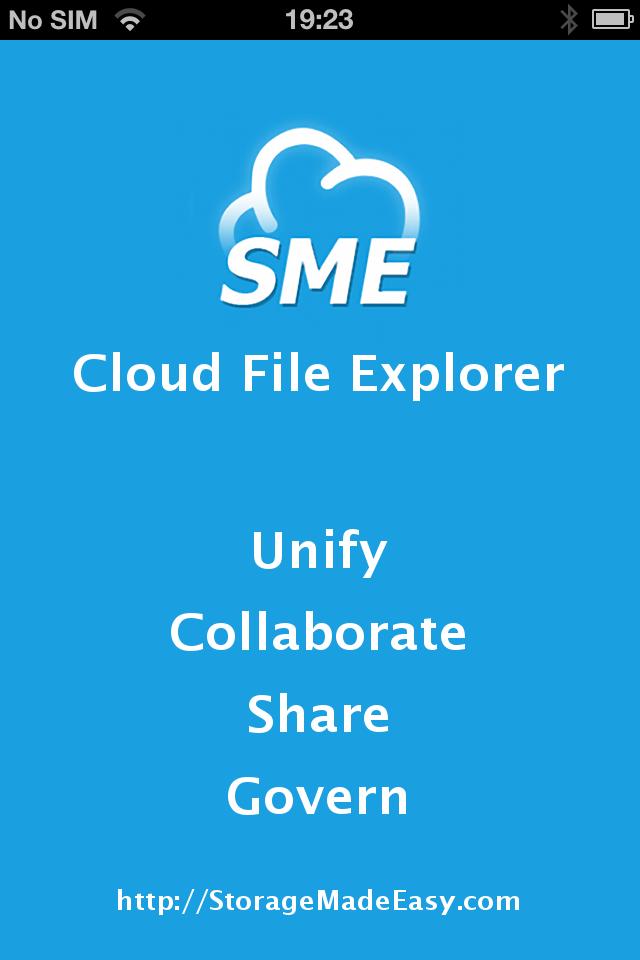 File Fabric iOS App | StorageMadeEasy