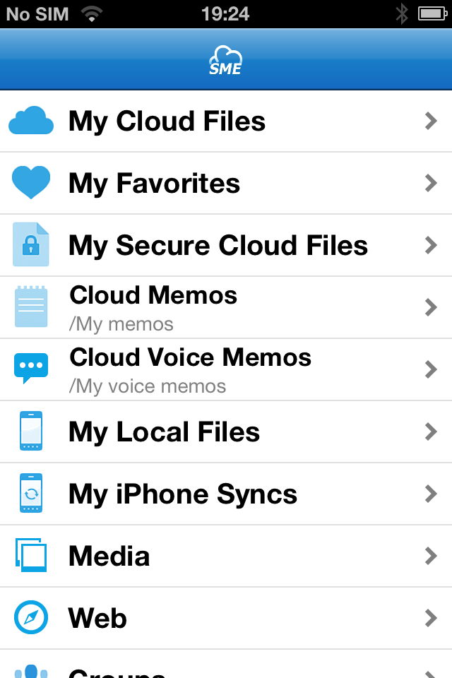 File Fabric iOS App | StorageMadeEasy